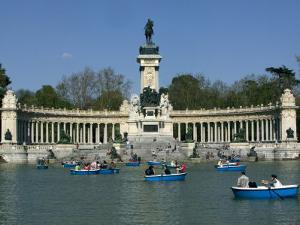 Alfonso XII Monument, Retiro Park, Madrid, Spain, Europe by Marco Cristofori