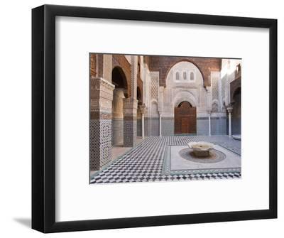 Attarine Madrasah, Fez, UNESCO World Heritage Site, Morocco, North Africa, Africa