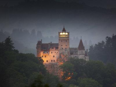 Bran Castle (Dracula Castle), Bran, Transylvania, Romania, Europe