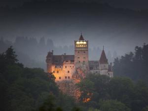 Bran Castle (Dracula Castle), Bran, Transylvania, Romania, Europe by Marco Cristofori
