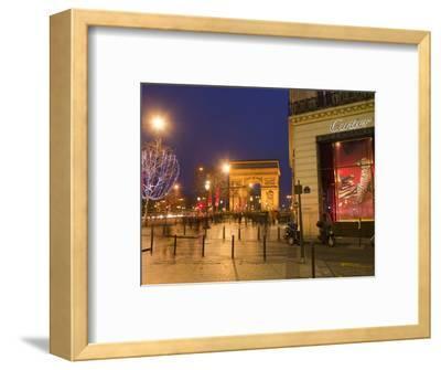 Cartier Store, Champs Elysees, and Arc De Triomphe, Paris, France, Europe