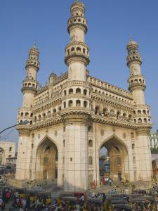Charminar, Hyderabad, Andhra Pradesh State, India by Marco Cristofori