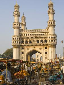 Charminar, Hyderabad, Andhra Pradesh State, India by Marco Cristofori