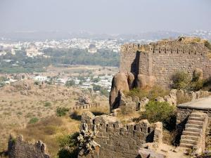 Golconda Fort, Hyderabad, Andhra Pradesh State, India by Marco Cristofori