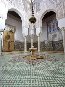 Mausoleum of Moulay Ismail, Meknes, UNESCO World Heritage Site, Morocco, North Africa, Africa by Marco Cristofori