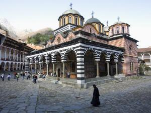 Rila Monastery, UNESCO World Heritage Site, Rila, Bulgaria, Europe by Marco Cristofori