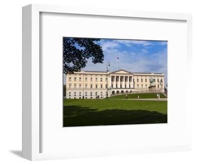 Royal Palace, Oslo, Norway, Scandinavia, Europe