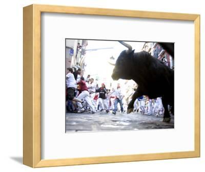 Running of the Bulls, San Fermin Festival, Pamplona, Navarra, Spain, Europe