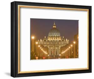 St. Peter's Basilica and Conciliazione Street, Rome, Lazio, Italy, Europe by Marco Cristofori