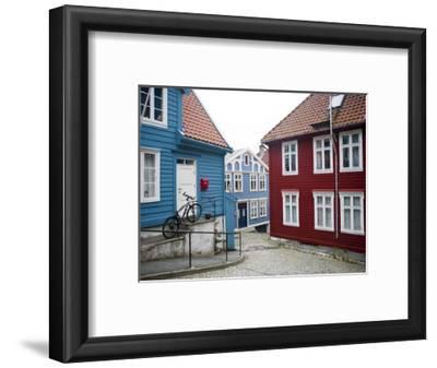 Strangehagen Street, Stransidden District, Bergen, Hordaland, Norway, Scandinavia, Europe