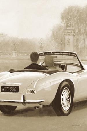 A Ride in Paris II Sepia by Marco Fabiano