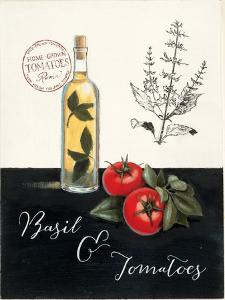 Basil and Tomatoes No Border by Marco Fabiano