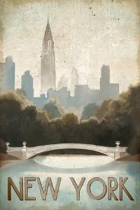 City Skyline New York Vintage V2 by Marco Fabiano