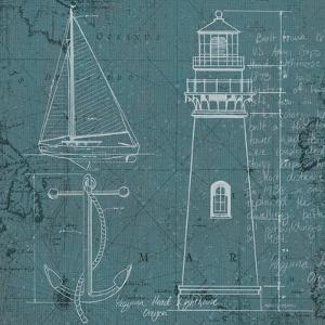 Coastal Blueprint IV by Marco Fabiano