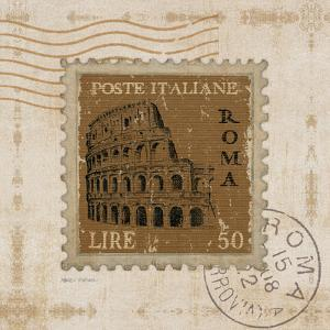 Iconic Stamps III Square by Marco Fabiano