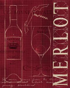 Wine Blueprint II v by Marco Fabiano