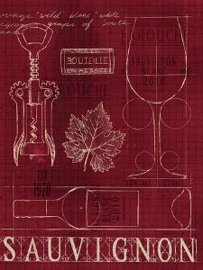 Wine Blueprint IV v by Marco Fabiano