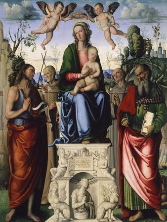 Madonna and Saints, 1503