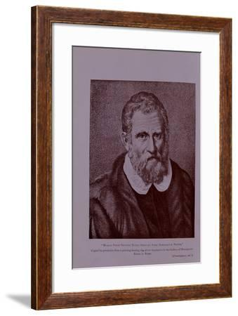 Marco Polo, Frontispiece from the Book of Ser Marco Polo, Ed. Yule, Pub. 1903--Framed Giclee Print