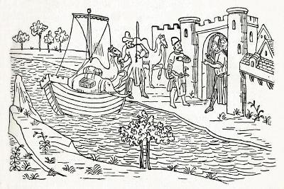 Marco Polo Lands at Ormuz, (C1300), 1912--Giclee Print
