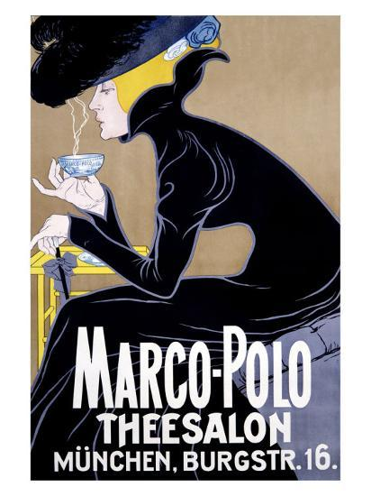 Marco Polo Tea Salon--Giclee Print