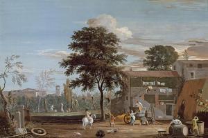 A Farm in the Veneto by Marco Ricci
