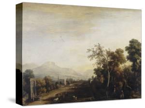 Landscape, Palatine Gallery, Palazzo Pitti, Florence by Marco Ricci