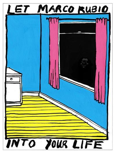 Marco Rubio - Cartoon-Edward Steed-Premium Giclee Print