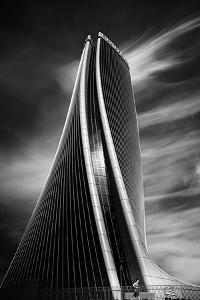 Jogging under the Tower by Marco Tagliarino