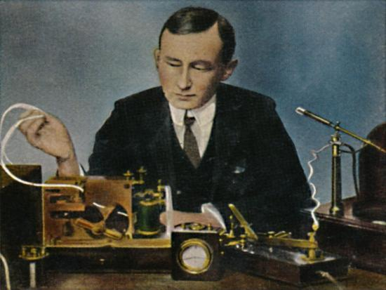 'Marconi - Geb. 1874', 1934-Unknown-Giclee Print