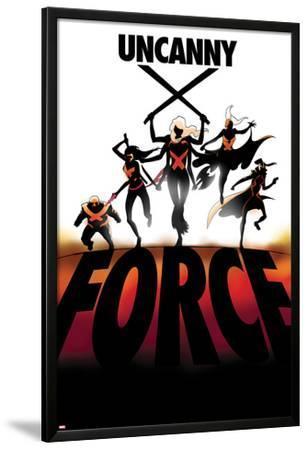 Uncanny X-Force #6 Cover: Spiral, Psylocke, Cluster, Storm, Puck