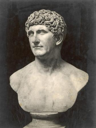 Marcus Antonius (Mark Anthony) Roman Statesman and Triumvir: Portrait Bust