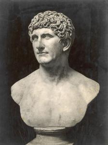 Marcus Antonius (Mark Anthony) Roman Statesman and Triumvir: Portrait Bust