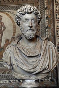 Marcus Aurelius (121-180). Roman Emperor. Bust