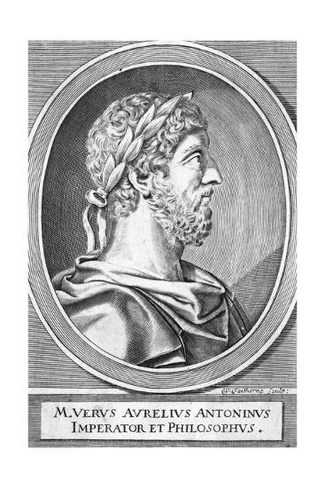 Marcus Aurelius-W Faithorne-Giclee Print