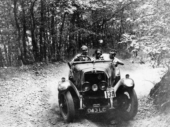 Marcus Chambers Driving an Rm Sport in a Brighton-Beer Trial, C1925--Photographic Print