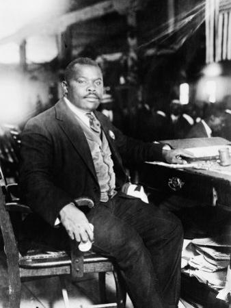 Marcus Garvey, 1887-1940