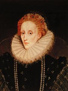 Portrait of Queen Elizabeth I (1533-1603) by Marcus Gheeraerts