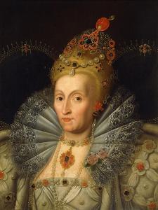 Portrait of Queen Elizabeth I by Marcus Gheeraerts