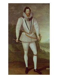 Robert Devereux, 2nd Earl of Essex, circa 1596 by Marcus Gheeraerts