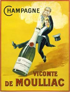 Champagne Vicomte De Moulliac by Marcus Jules