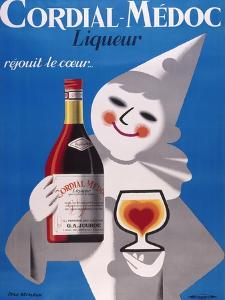 Cordial Medoc Blue Clown by Marcus Jules