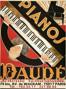 Daude Pianos by Marcus Jules