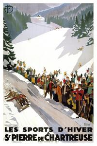 Les Sports D'Hiver by Marcus Jules
