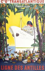 Ligne Des Antilles by Marcus Jules