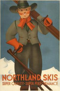 Northland Skis by Marcus Jules