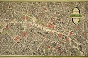 Paris Map by Marcus Jules
