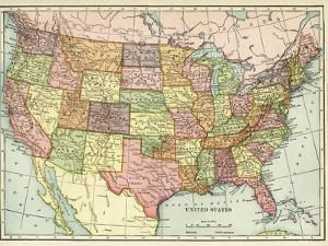 USA Map by Marcus Jules