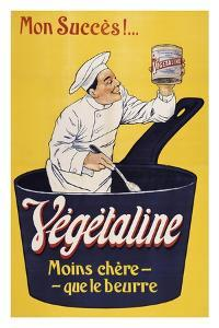 Vegetaline-Yellow Chef by Marcus Jules