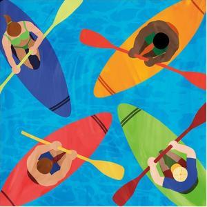 Kayak Traffic by Marcus Prime